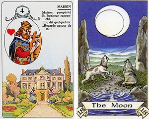 Combining Lenormand with Tarot