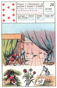 10 of Diamonds Petit Jeu Lenormand