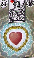 Lenormand Heart Meaning