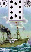 Lenormand Ship Card Combinations