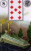 Lenormand Coffin Meaning