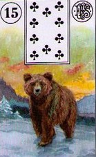 Lenormand Bear Meaning