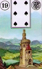 Lenormand Tower Meaning