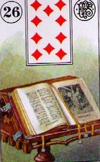 Lenormand Book Card Combinations