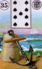 Lenormand Anchor Meaning