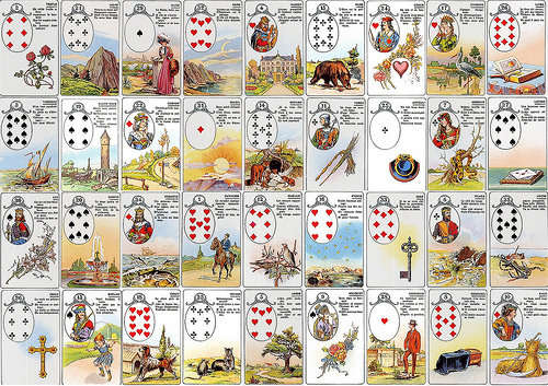 9 x 4 Grand Tableau Lenormand Readings